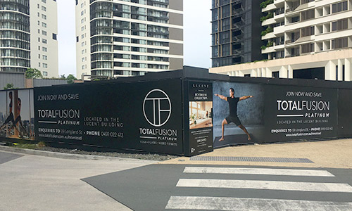 construction advertising