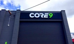 commercial building signage