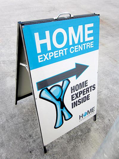 a frame sign design