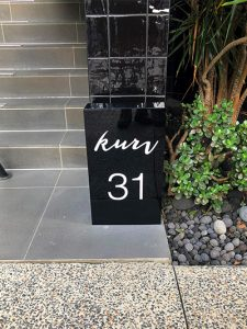street number signs