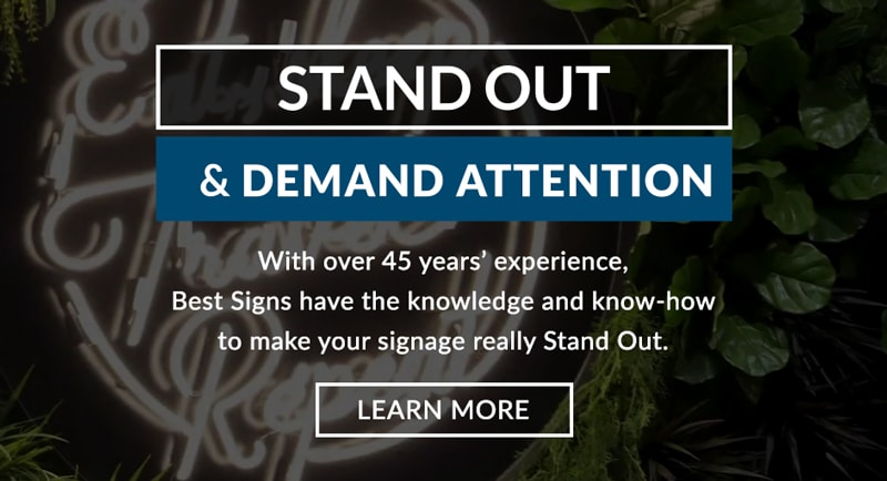 stand out best signs